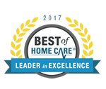 HomeLife Senior Care Leader in Excellence Award